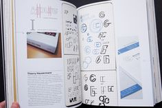 Typography Sketchbooks by Parka81, via Flickr