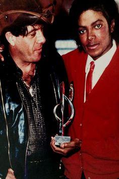 Michael Jackson Foto mit Molly Medrum 02 10x15cm