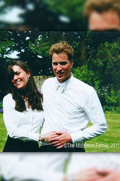 Kate Middleton and Prince William on their graduation day at St. Andrew's University in 2005. The pair first met at Scotland's prestigious school in 2001.