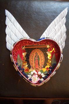 Rubbish - Virgin of Guadalupe Shrine.