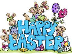 Happy Easter Bunnies (Sku#Q1095)