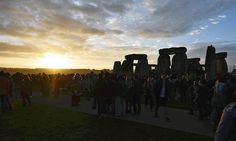 Il solstizio d'estate a Stonehenge