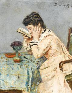 Alfred Stevens (1823–1906),  Lectora miope (1903),