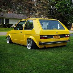 Photo by Thomas Clark Scirocco Volkswagen, Volkswagen Golf Mk1, Audi, Porsche, Jetta Mk1, Mk1 Caddy, Bmw E38, Power Bike, Yellow Car