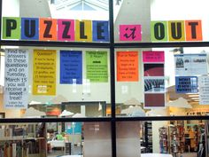 The other day I (literally) woke up thinking about the next plan for the library window display. I want it to be fun. I want students to care. I want to get students into the library. So I will bri…