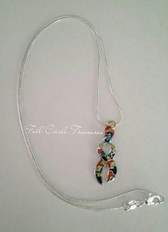 Autism Awareness Necklace Autism Necklace by FullCircleTreasures