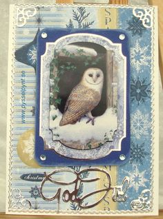 God Jul 2013 Chrustmas card Owl