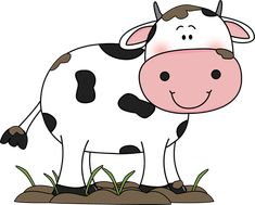 Cow With A Flower In Its Mouth Udderly Adorable - Cute Cow Clipart Png , Transparent Cartoon, Free Cliparts & Silhouettes - NetClipart Cow Illustration, Illustrations, Cartoon Drawings, Animal Drawings, Animated Cow, Cow Craft, Sweet Cow, Cow Drawing, Cow Colour