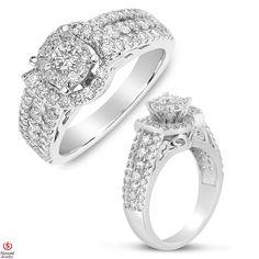 Jet NissoniJewelry presents - Ladies Diamond Engagement Ring in 14K White Gold with 1.48CT Diamonds    Model Number:UB8270W/SH    https://jet.com/product/Ladies-Diamond-Engagement-Ring-in-14K-White-Gold-with-148CT-Diamonds/75e8188d98e8469fb8d37b08164bd9c9