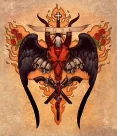 Brom. The Devils Rose #books