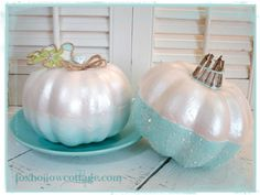 Fox Hollow Cottage: 30 Plus Featured Pumpkin Ideas for Halloween and Fall