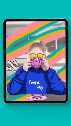 Instagram Story PicsArt Drawing in ProCreate
