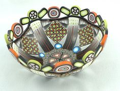 Decorative Polymer Clay Bowl by emilysquireslevine on Etsy,