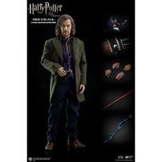 This is a Harry Potter Order of the Phoenix Sirius Black 1/6 Scale Action Figure that is produced by the good folks over at Star Ace Toys. This is definitively a high-end collectible figure. Star Ace