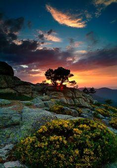 Love sunsets.