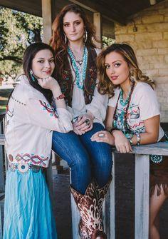 Southwestern-Bohemian fashion inspiration. Double D Ranch photo shoot | Ranch at the Rim