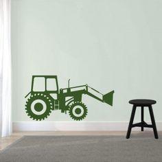 Muursticker Tractor Uni