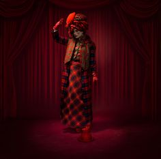 Photographer PETER KEMP  Clown  ONE EYELAND