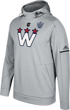 33d4d6b76 adidas Men s 2018 Stadium Series Washington Capitals Event Logo Pullover  Hoodie