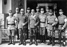 Kenpeitai officers