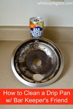 Omg This So Totally Works No More Buying New Drip Pans