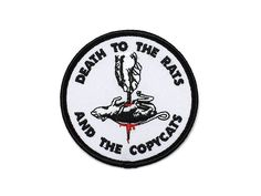 RATS & COPYCATS PATCH – BALL & CHAIN CO.