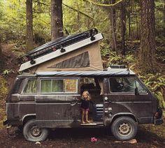 Our ragtag gang of northwestern van Lovin folks has made the news! Thanks to our friend Mike Kane of the… Vw Camper, Vw Caravan, Camper Life, Volkswagen Bus, Volkswagen Beetles, T3 Doka, Vw T3 Syncro, T3 Vw, Transporter T3