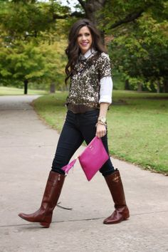 mac rebel, brunette, fashion blog, fall fashion, pinterest fall fashion, emily gemma, the sweetest thing blog, jcrew, jcrew sequin shirt, to...