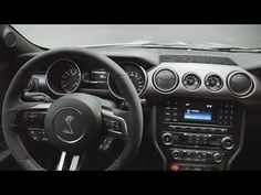 New 2016 Ford Mustang Shelby GT350 Interior - YouTube