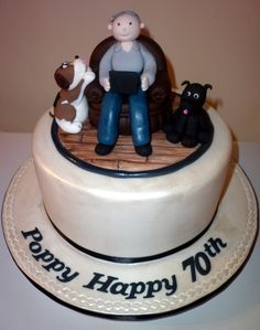 70th Birthday Cake