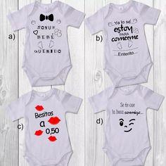 bodys personalizados para bebés de 0 a 24 meses