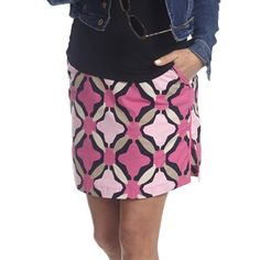 Golftini Pink Morocco Skort #Fall 2014 | #Golf4Her #golfcothes #newarrival