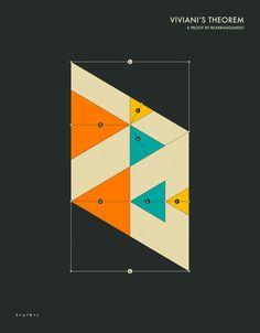 Viviani's Theorem Art Print