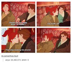 Anastasia and Dimitri, Disney?, not Disney, very close 😁 Princesa Anastasia, Disney Anastasia, Anastasia Movie, Disney And More, Disney Love, Disney Magic, Disney And Dreamworks, Disney Pixar, Walt Disney