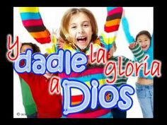 """MUSICA INFANTIL CRISTIANA ALZAD LAS MANOS , KARAOKE - YouTube--'the animals they came on, they came on 2x2"""""""
