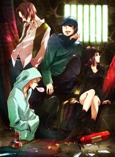 Kyohei Kadota,Erika Karisawa,Walker Yumasaki,Saburo Togusa - Durarara