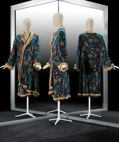 Paul Poiret, Jacket from original 'Troïka' ensemble (altered, skirt discarded), Paris 1923, printed silk velvet, fur, silk