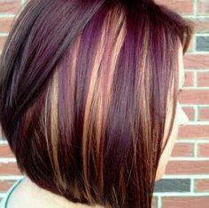 Image result for short rose gold hair