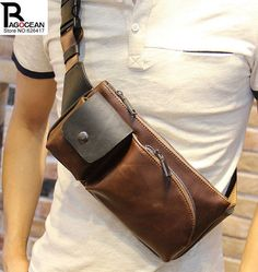 2017 Men chest Bag cigarette packet mobile phone  bag