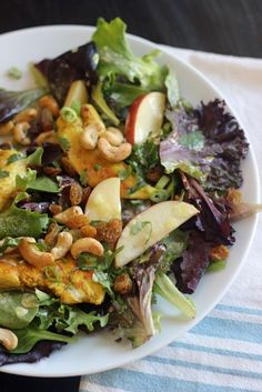 Curried Chicken and Apple Salad.