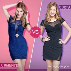 Essas belezinhas de vestidos estão em uma disputa por um lugarzinho no seu guarda-roupas! Qual você prefere? #Enquete #CódigoGirls www.codigogirls.com.br @codigogirlsoficial