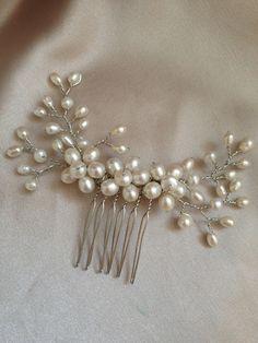 Our beautiful Victoria Harper Bridal Accessories in our boutique <3