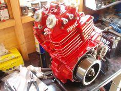 Engine honda xl 600lm