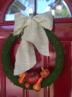 Instant classic fall wreath