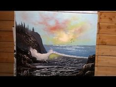 Painting With Magic Wave Of Light wet on wet oil painting season 3 ep 4 - YouTube