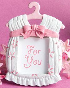 Cute baby themed photo frame favors - girl #wedding #favors www.BlueRainbowDesign.com