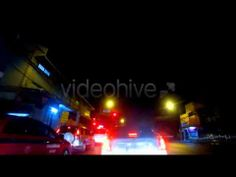 Drive Time Lapse 1 - Stock Footage (+playlist)