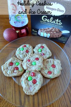 Holiday Cookies and Ice Cream on southeastbymidwest.com
