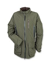 Enjoy comfort as the weather cools in a Barbour fleece-lined shooting jacket.