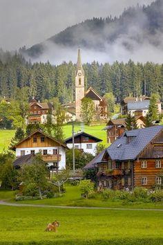 Gosau, Gmunden, Áustria.